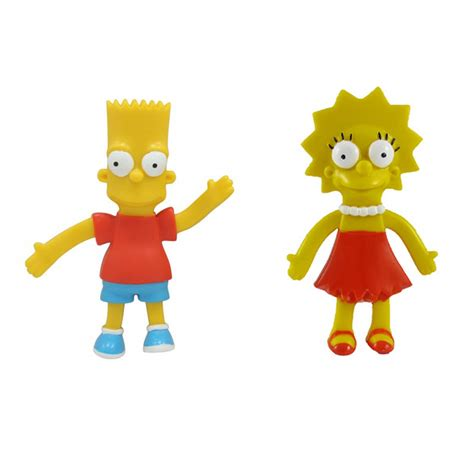 The Simpsons Family Figure the simpsons bendable figures