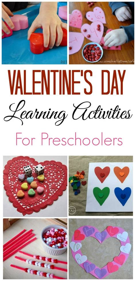 activities for valentines day valentine s day learning activities for preschoolers
