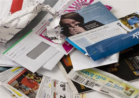 Recycled Labels To Combat Junk Mail by Stop Junk Mail Metro
