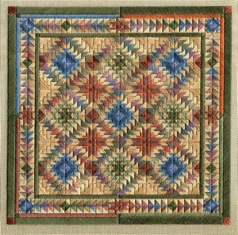Indian Quilt by Two Handed Stitcher Indian Is Here