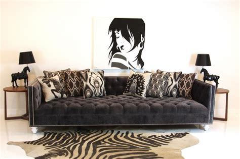 deep tufted sofa www roomservicestore com tufted deep sofa in charcoal velvet