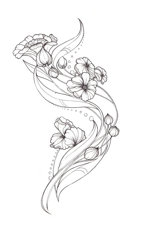 art deco tattoo design nouveau design by tegan on deviantart
