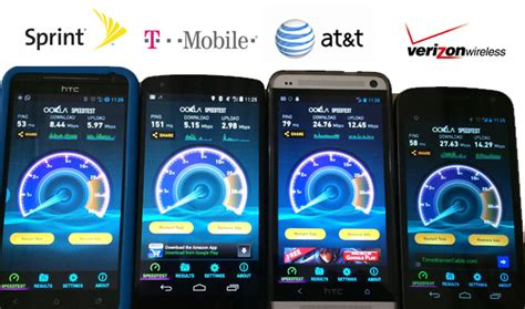 test mobile speed rustybrick lte speed test at t verizon t mobile sprint