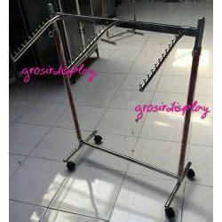 Hanger Gantungan Baju Model Gawangan 120cm grosir display supplier perlengkapan display anda
