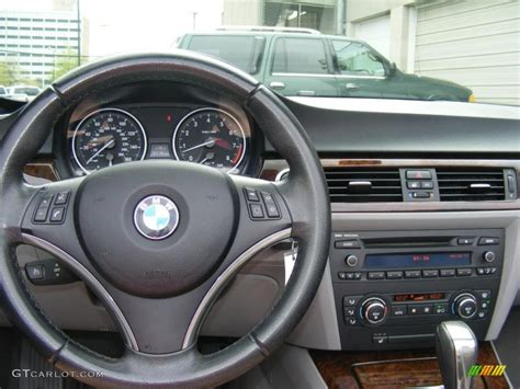 bmw 3 series dashboard 2008 bmw 3 series 328i convertible gray dashboard photo