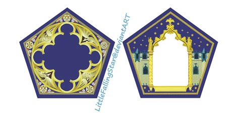 chocolate frog box template with cards chocolate frog card by littlefallingstar on deviantart