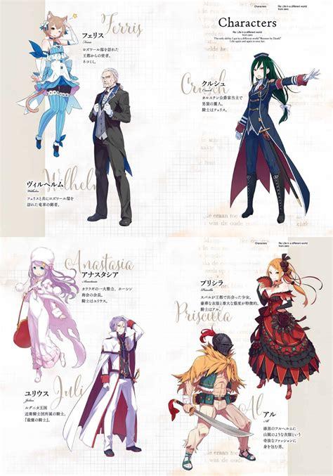 light novel layout el anime de re zero kara hajimeru isekai seikatsu presenta