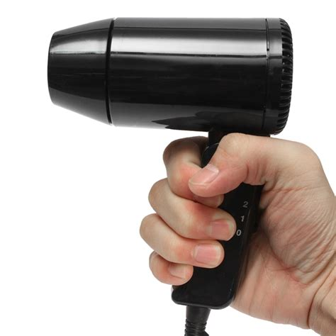 Travel Hair Dryer With Cold Setting foldable 12v 216w hair dryer heat blower cold
