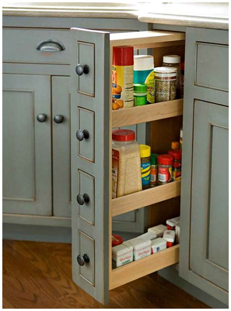 Small Kitchen Storage Cabinet Small Kitchen Interior Fittings Afreakatheart