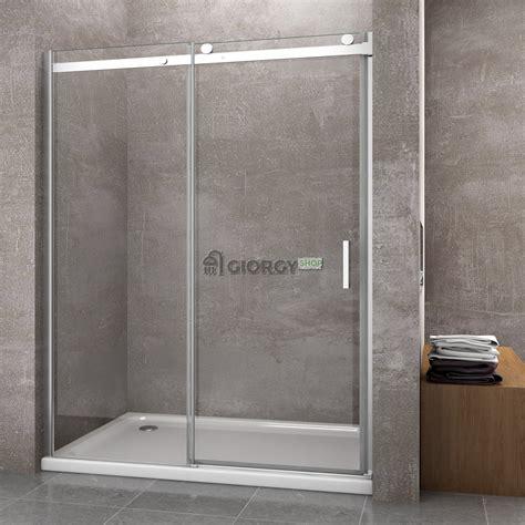 doccia a nicchia porta doccia per nicchia 8 mm apertura scorrevole