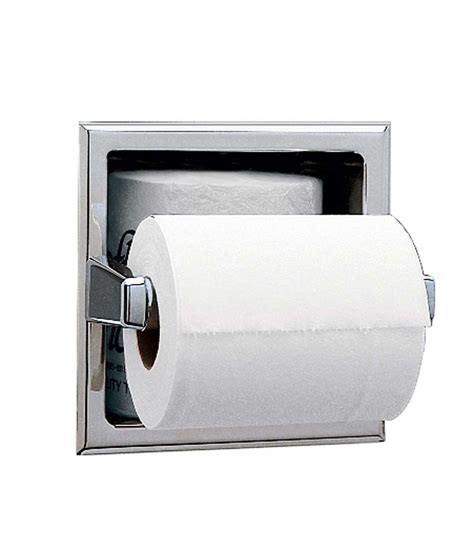 toilet paper roll storage b 6637 recessed toilet tissue dispenser with storage for