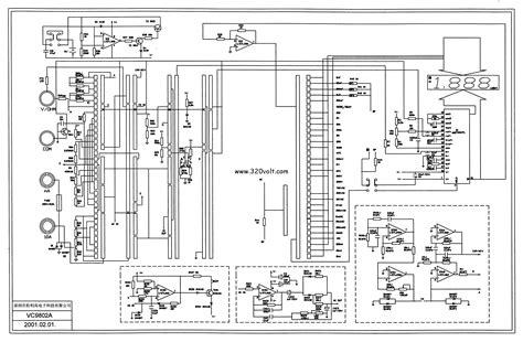 schematic drawing multimetre 246 l 231 252 aleti å emalarä â elektronik devreler projeler