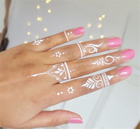 henna tattoo designs in white henna by aroosa how to white henna tutorial henna