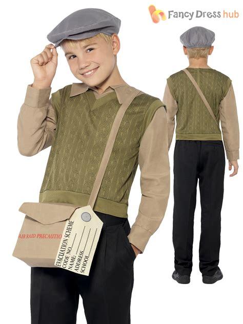 world war 2 outfits boys 1940s ww2 evacuee costume world war 2 40 s kids fancy