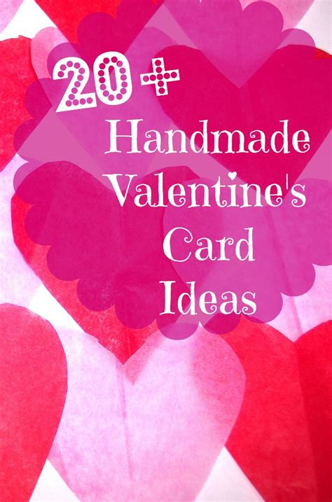 valentines cards ideas 20 handmade s day card ideas bargainbriana