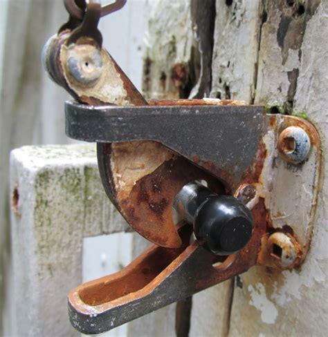 backyard gate lock my backyard gate lock free stock photo public domain pictures