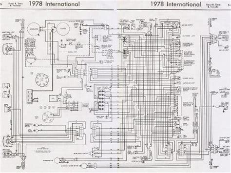 1973 scout ii wiring diagram 28 wiring diagram images