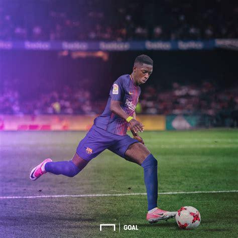 ousmane dembélé goals for barcelona barcelona complete 105m dembele signing from borussia
