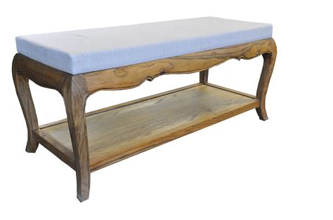 french provincial bench french provincial vintage furniture bed end stool in
