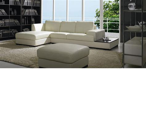 divani leather sofa dreamfurniture com divani casa 3893 modern leather