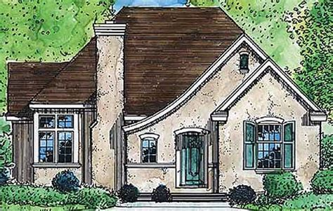 small french country cottage house plans architectural designs