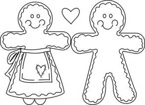 gingerbread coloring pages free coloring pages of gingerbread outline