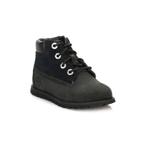 black toddler boots timberland toddler boots black nubuck 6 quot premium pokey