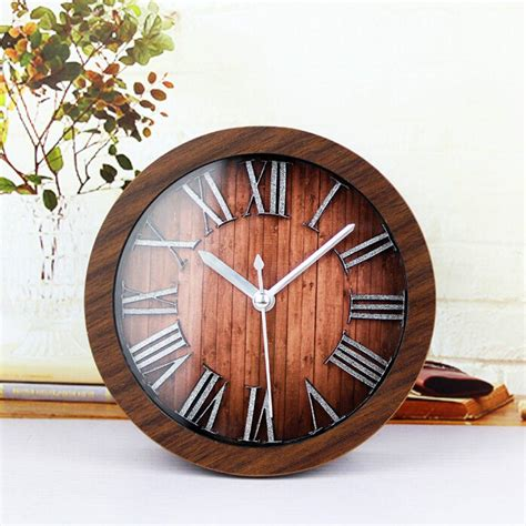 Vintage Wall Clock vintage electric wall clock for room decoration wall clocks