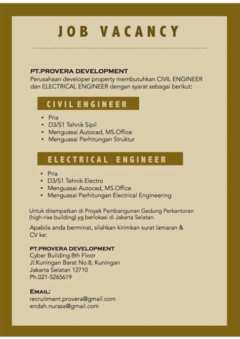design engiinering lowongan kerja nya lowongan fakultas teknik universitas indonesia