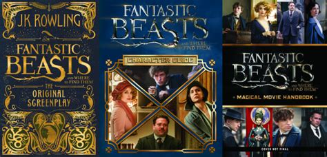 the beast slayer books scholastic releases fantastic beasts cover design