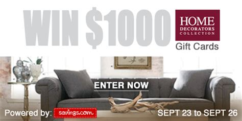 enter to win 50 home decorators gift card 20 winners