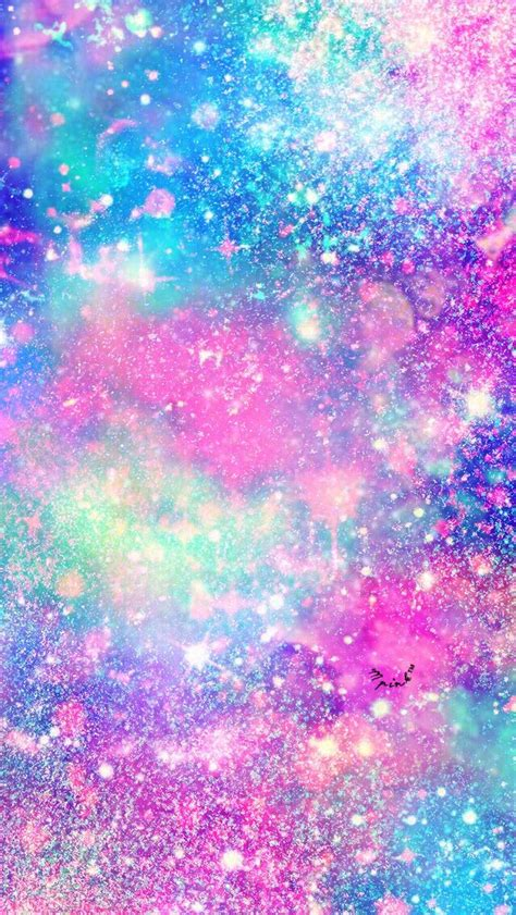 glitter galaxy wallpaper  wallpaper creations