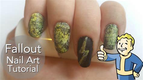jessie nail art tutorial fallout nail art tutorial youtube
