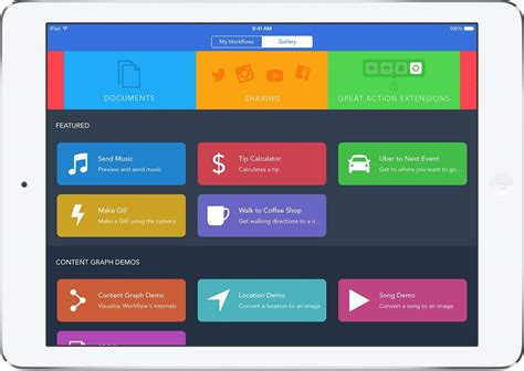 workflow for apps workflow is a powerful automation tool for ios