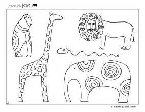 Template Animals by Made By Joel 187 Made By Joel Animal Coloring Sheet Free
