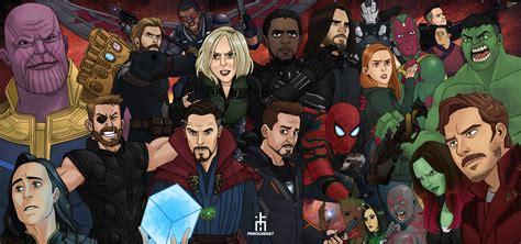 avengers infinity war artwork hd movies wallpapers