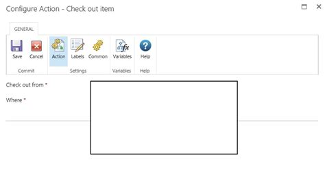 sharepoint 2013 reusable workflow how to check out current item in nintex reusable site