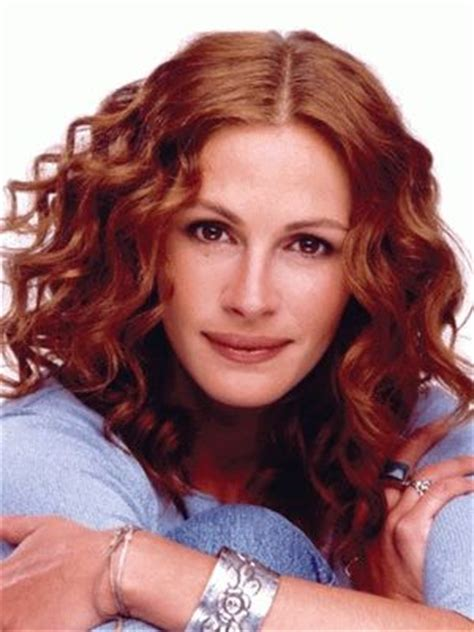 julia roberts red hair 7 best haircuts for curly hair classy lady red hair and