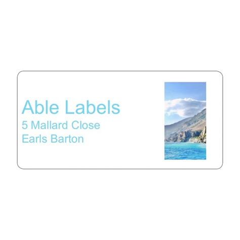 html format label text photo right text address label a4 sheets able labels