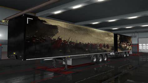 mythologie trailer skins  ets euro truck simulator  mods