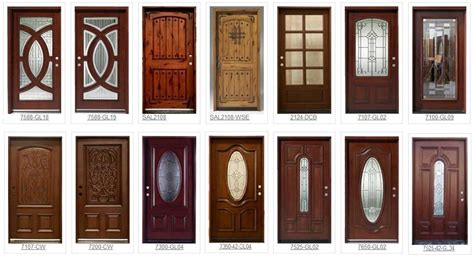 Handmade Wooden Doors - custom front entry doors solid wood doors for builders inc