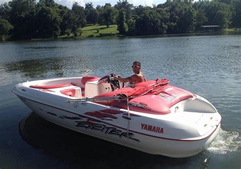 jet boat yamaha exciter yamaha exciter 1999 for sale for 5 000 boats from usa