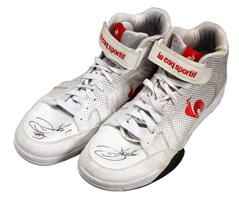 joakim noah basketball shoes lot detail 2012 joakim noah used and signed
