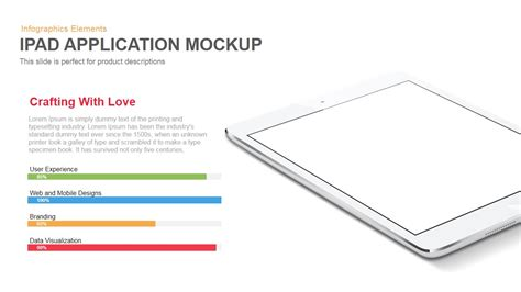 ipad application mockup powerpoint keynote template