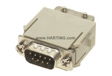 Harting Connector Han D 15pin han d sub module crimp harting technology