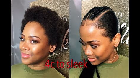 different ways to slick back natural hair using styling gel with pictures how to do a ponytail on natural 4c short hair ft luvme