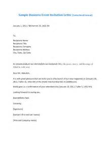Business Letter Example For Invitation saudi arabia letter of invitation sample letter chainimage