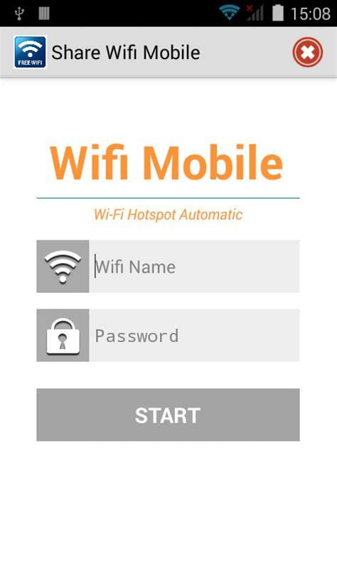 wifi mobile hotspot app wifi mobile hotspot