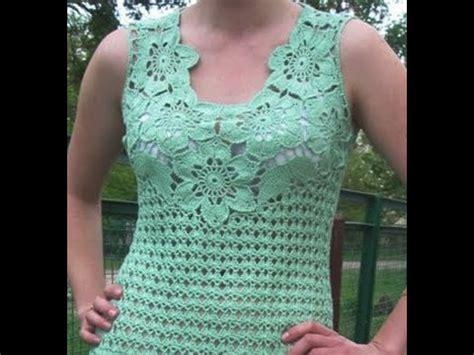 como tejer de gancho blusas gr 225 ficos para tejer a crochet youtube