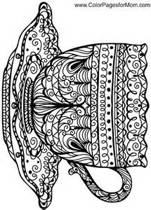 coloring templates for adults coloring pages for adults coffee coloring page 38